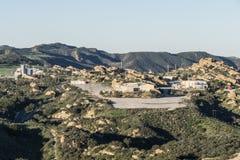 Santa Susana Field Laboratory vicino a Los Angeles Fotografia Stock Libera da Diritti