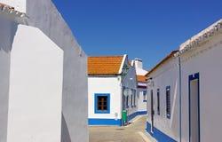 Santa Susana village. Stock Image