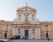 Santa Susanna (alle Terme di Diocleziano de Santa Susanna dos di de Chiesa Imagens de Stock