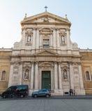 Santa Susanna (alle Terme di Diocleziano de Santa Susanna dos di de Chiesa Imagem de Stock