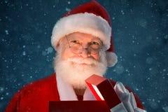 Santa szczęśliwy Zdjęcie Royalty Free