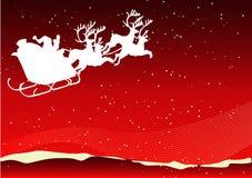 Santa tło Fotografia Royalty Free
