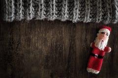 Santa Tabletop Lizenzfreie Stockfotografie