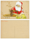 Santa tailor Royalty Free Stock Images