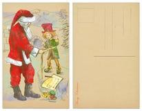Santa tailor Stock Photo