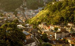 Santa Teresa-Bezirk in Rio de Janeiro, Brasilien Stockfotografie