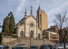 Santa Teresa d ` Avila katedra - Caxias robi Sul, rio grande robi Sul, Brazylia Zdjęcie Stock