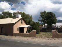 Santa Teresa de Jesus Chapel in Taos-New Mexiko USA Stockfoto
