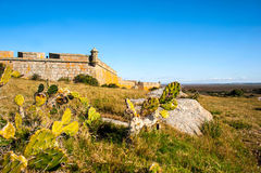 Santa Teresa fort. Rocha. Uruguay Royalty Free Stock Photos