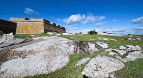 Santa Teresa fort. Uruguay Stock Images