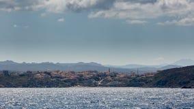 Santa Teresa Gallura in norther Sardinia Royalty Free Stock Photography