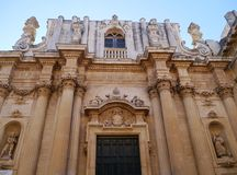 Santa Teresa in Lecce Stock Photo