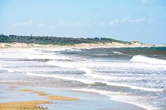 Santa Teresa park narodowy, Rocha, Urugwaj obrazy royalty free