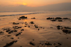Santa Teresa sunset Royalty Free Stock Photography