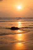 Santa Teresa sunset Stock Photos