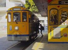 Santa Teresa Tram in Rio Stock Photography