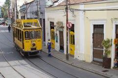 Santa Teresa Tram in Rio de Janeiro Stock Photography
