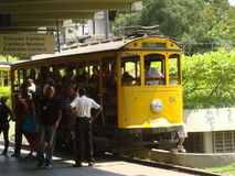 Santa Teresa tramwaj Obraz Stock