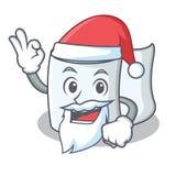 Santa tissue character cartoon style. Vector illustration Stock Photography