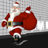 Santa Toilet Paper Royalty Free Stock Images