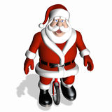 Santa Toy Testing - Unicycle 1 Stock Photography
