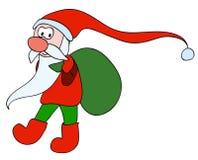 Santa très mignonne Photos libres de droits