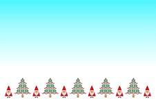 Santa tradycyjny ścieg Zdjęcie Stock