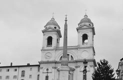 Santa Trinita dei Monti Stock Photos