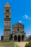 Santa Trinita di Saccargia Imagenes de archivo