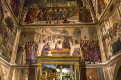 Santa Trinita-kerk, Florence, Italië Royalty-vrije Stock Foto