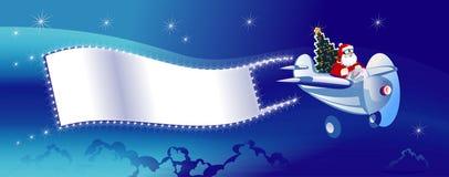 Santa - um piloto Ilustração Royalty Free