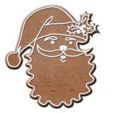 Santa van de peperkoek Stock Afbeeldingen