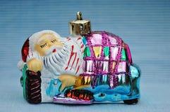 Santa van de slaap Stock Fotografie