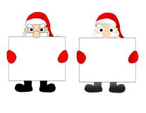 Santa vector Royalty Free Stock Photo