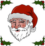 Santa. Vector illustration of Santa Claus Royalty Free Stock Image
