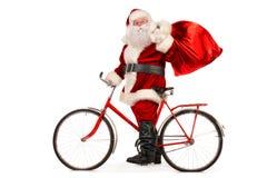 Santa veloce Fotografie Stock