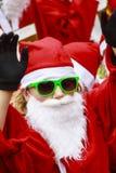 Santa verde Imagens de Stock Royalty Free