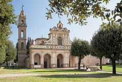 Santa Verdiana sanctuary Stock Photos