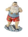 Santa vers le bas dessous Photo libre de droits