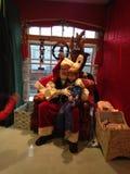 Santa visit Royalty Free Stock Images
