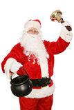 Santa Volunteers Stock Images