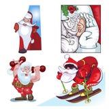 Santa Vraznykh typer, brådska till dig Arkivbild