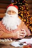 Santa w koszula Zdjęcia Stock
