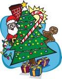 Santa wakacje Obrazy Stock