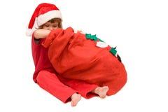 Santa was here! Stock Photos