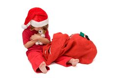 Santa was here! royalty free stock image
