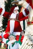 Santa Waves 2 Stock Images