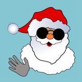 Santa Waving Royalty Free Stock Photography