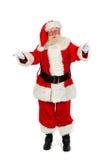 Santa welcomes you Royalty Free Stock Image