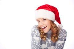 Santa winking Royalty Free Stock Photo